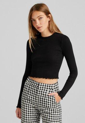 LANGARM - Long sleeved top - black