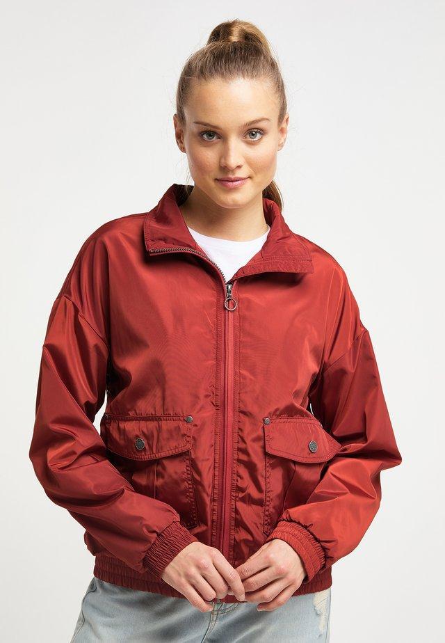 Training jacket - rust