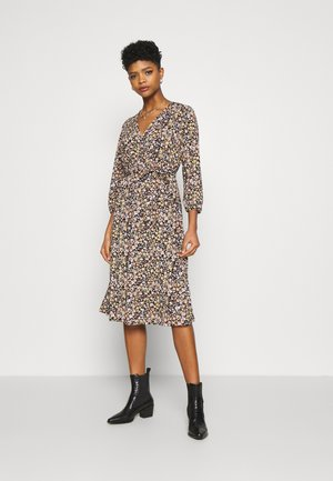 VILITIN MIDI DRESS - Robe en jersey - black