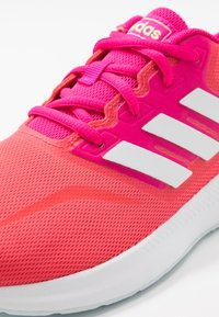 adidas Performance - RUNFALCON  - Zapatillas de running neutras - shock red/footwear white/shock pink - 2