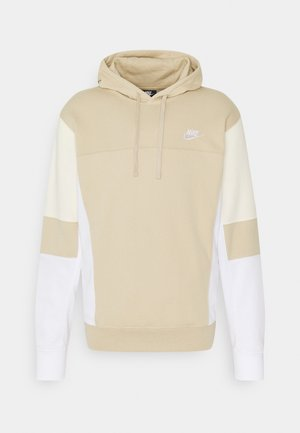 HOODIE  - Sweatshirt - grain/white/coconut milk