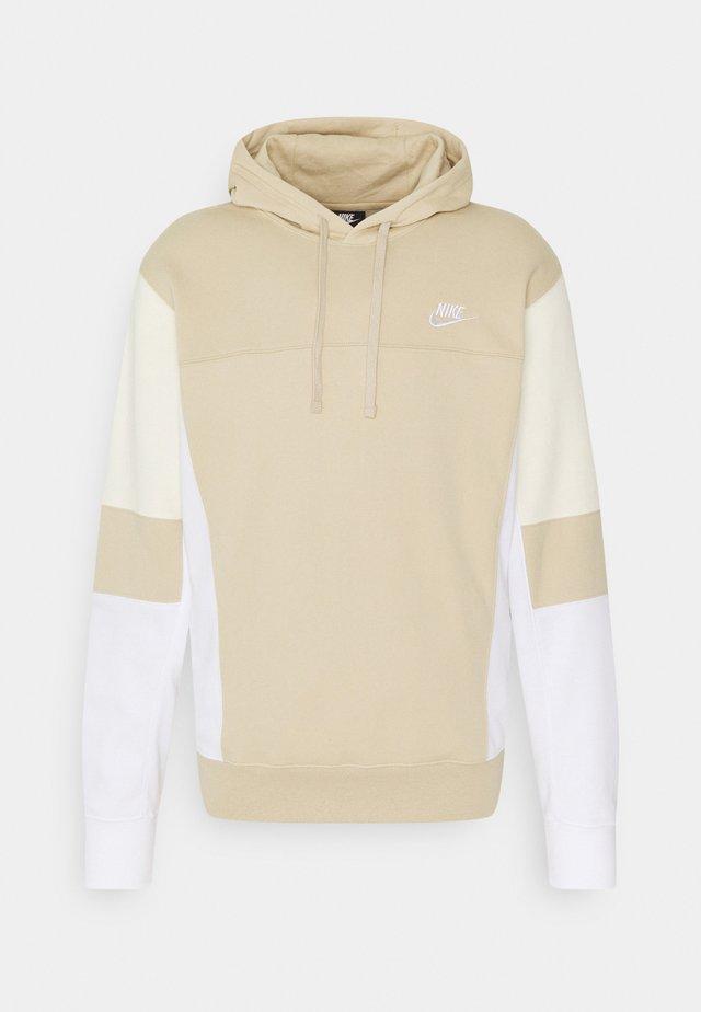 HOODIE  - Sweatshirt - grain/white/coconut milk
