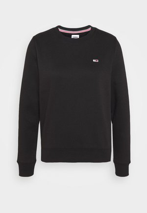 REGULAR C NECK - Sudadera - black