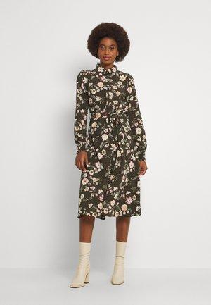 PCFALISHI MIDI DRESS - Day dress - black olive