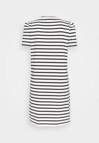 kate spade new york - STRIPE PUFF SLEEVE DRESS - Jersey dress - cream - 1