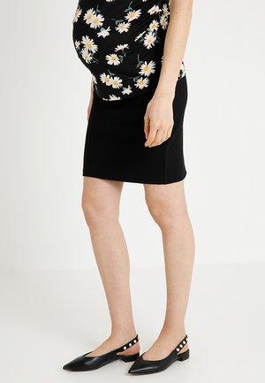 SKIRT PONTE DI ROMA - Pouzdrová sukně - black
