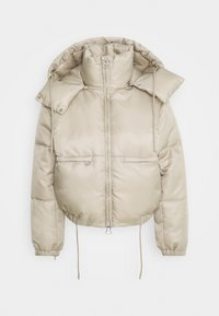 Weekday - HANNA SHORT PUFFER JACKET - Winter jacket - beige - 5