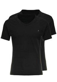 Replay - 2 PACK - T-shirt basic - black - 0