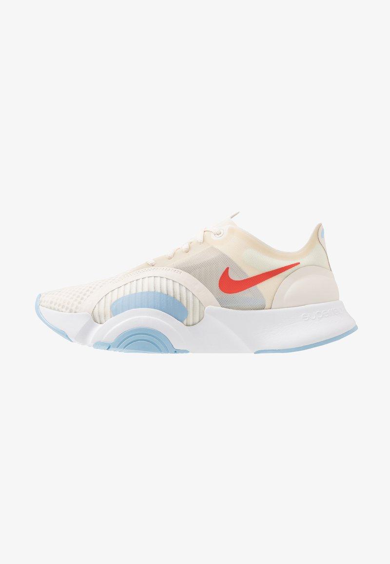 Nike Performance - SUPERREP GO - Sports shoes - pale ivory/team orange/psychic blue/white