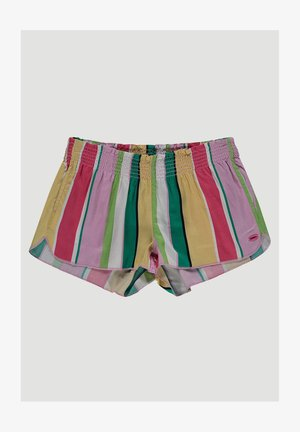 WALKSHORTS SUMMER SHORTS - Shorts - white aop w/ pink or purple