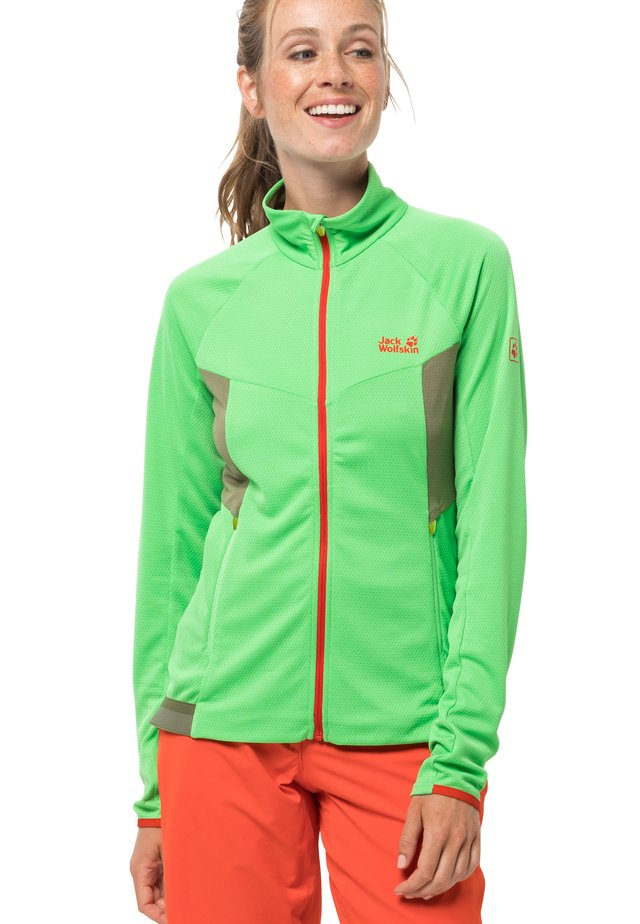 GRADIENT  - Fleece jacket - summer green