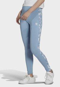 adidas Originals - Leggings - Trousers - blue - 0
