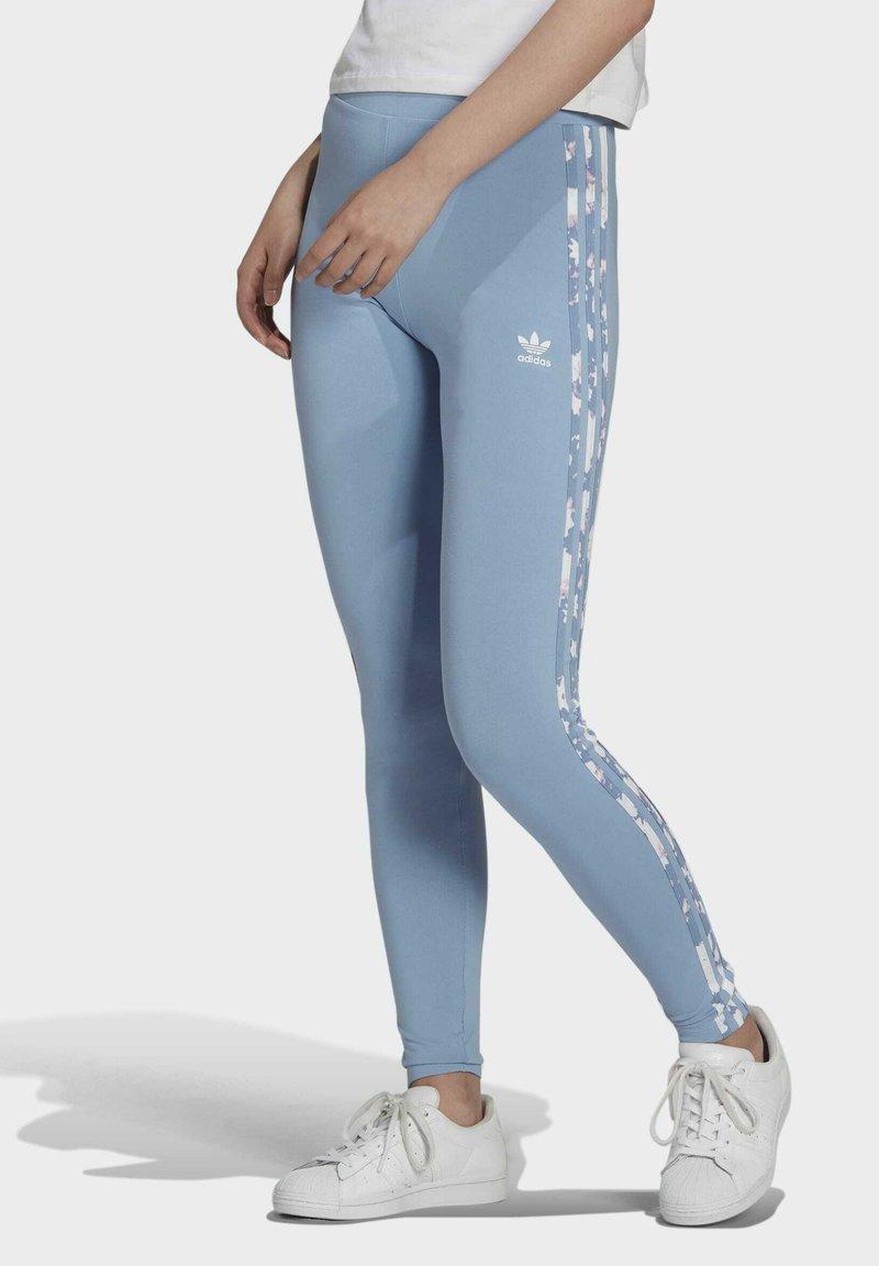 adidas Originals - Leggings - Trousers - blue