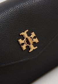 Tory Burch - KIRA MIXED MATERIALS MINI BAG - Across body bag - black - 2