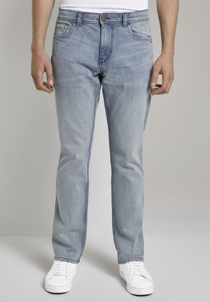 JOSH - Slim fit jeans - used light stone blue denim