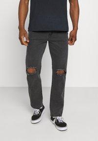 Mennace - ON THE RUN  - Jeans baggy - black - 0