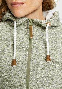 Icepeak - AURAY - Zip-up hoodie - antique green - 4