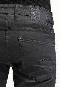 G-Star - REVEND SKINNY - Jeans Skinny Fit - black pintt stretch denim - 6