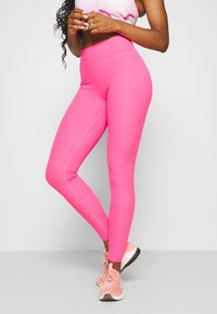 Nike Performance - ONE LUXE - Tights - hyper pink - 0