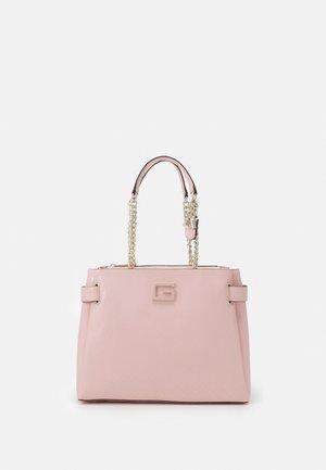 BLANE SOCIETY SHOULDER SATCHEL - Handbag - rose