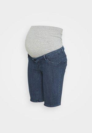 OLMRAIN LIFE - Szorty jeansowe - medium blue denim