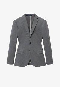 Mango - Blazer jacket - šedá - 6