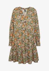 YAS - YASFLORALA DRESS - Day dress - coral pink - 4