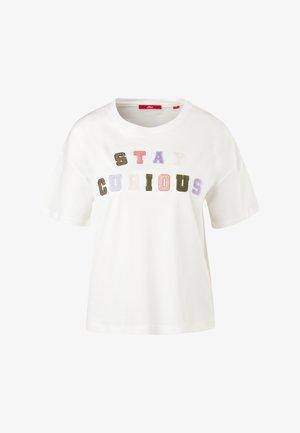 T-shirt imprimé - offwhite statement print