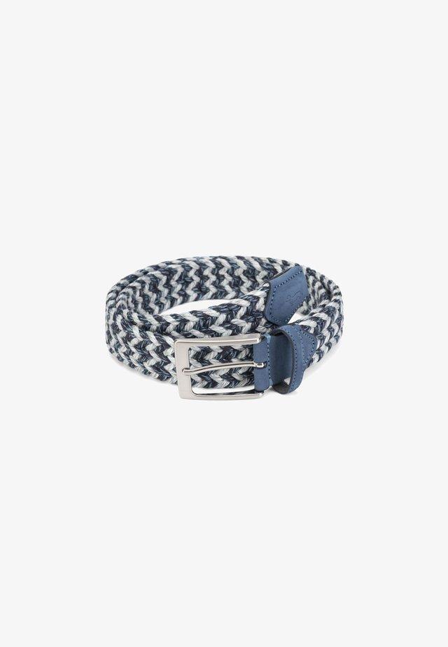 Cintura intrecciata - grigio cadetto