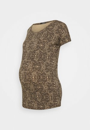 TEE ANIMAL - Printtipaita - brown