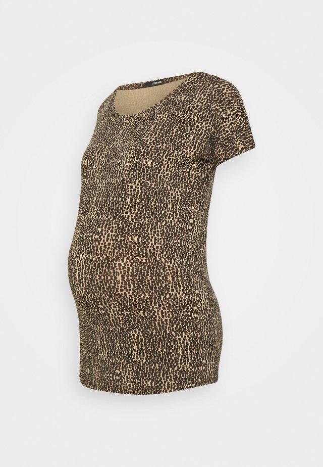 TEE ANIMAL - T-shirt print - brown