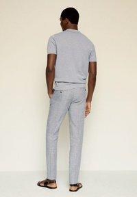 Mango - ANDREW - Poloshirt - medium heather grey - 2