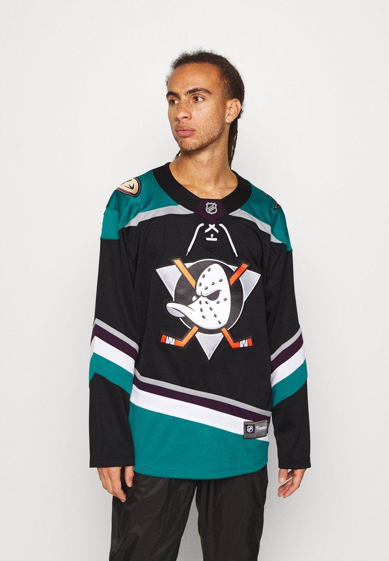Fanatics - NHL ANAHEIM DUCKS FANATICS BRANDED ALTERNATE  - Klubové oblečení - black
