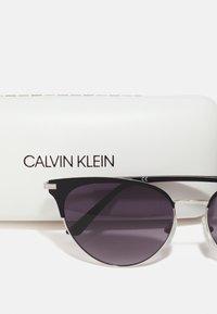 Calvin Klein - Sunglasses - satin black - 2
