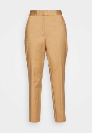 SLUB ANKLE PANT - Trousers - classic khaki