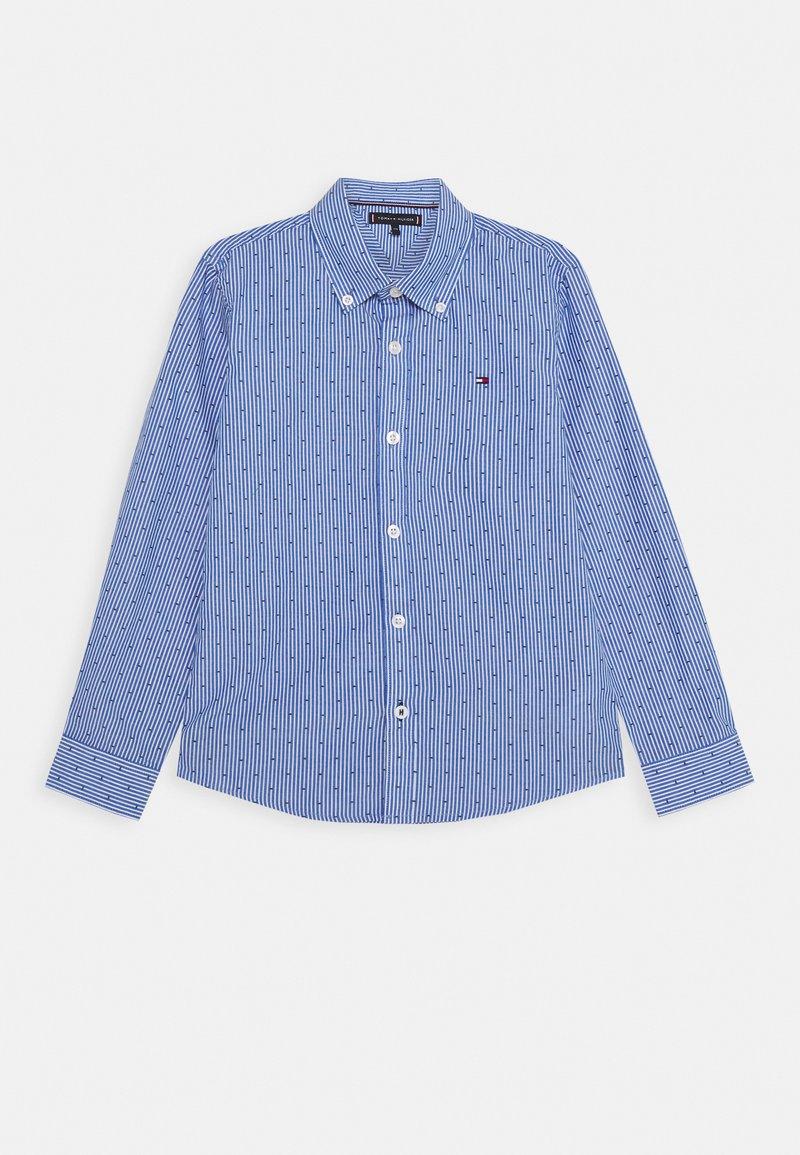 Tommy Hilfiger - STRIPE CLIPPING  - Shirt - blue