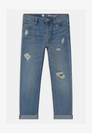 GIRLS  - Relaxed fit jeans - blue denim