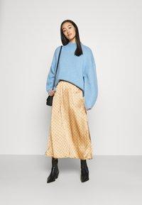 JDY - JDYDOTTIE SKIRT - A-line skirt - Tan - 1
