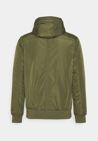 Cotton On - HOODED JACKET - Light jacket - khaki - 1