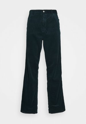 SINGLE KNEE PANT URBANA - Pantalones - deep lagoon rinsed