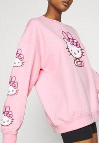 NEW girl ORDER - HELLO BUNNY - Sweatshirt - pink - 3