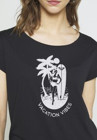 Roxy - SWEET SUMMER TEE - Print T-shirt - anthracite - 5