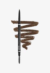 Nyx Professional Makeup - MICRO BROW PENCIL - Eyebrow pencil - 6 brunette - 0