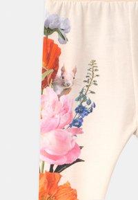 Molo - SUSANNE - Trousers - white/multi-coloured - 2