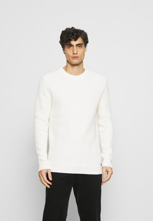 CREWNECK - Strikkegenser - wool white