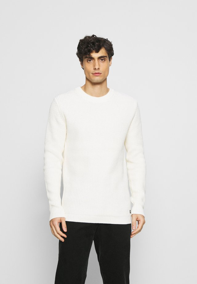 CREWNECK - Jumper - wool white