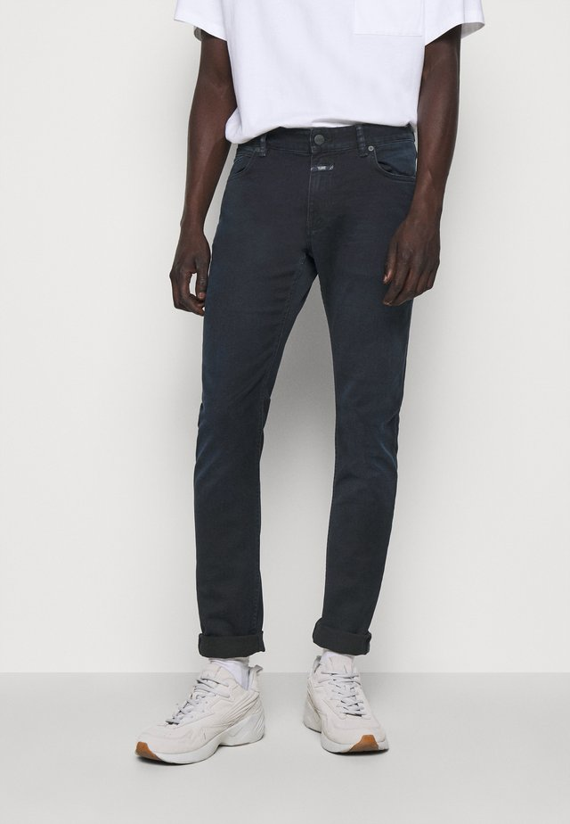 UNITY SLIM - Slim fit jeans - blue black
