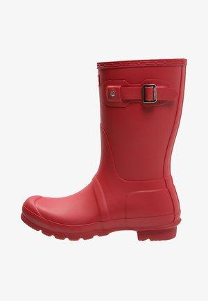 ORIGINAL SHORT VEGAN - Wellies - Kumisaappaat - military red