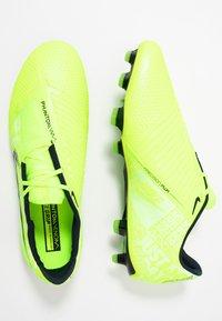 Nike Performance - PHANTOM ELITE FG - Moulded stud football boots - volt/obsidian/barely volt - 1