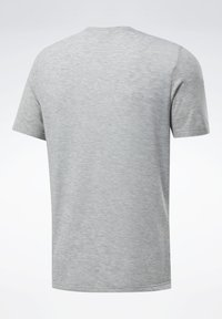 Reebok - SPEEDWICK SPORT SHORT SLEEVE GRAPHIC TEE - Camiseta estampada - grey - 7